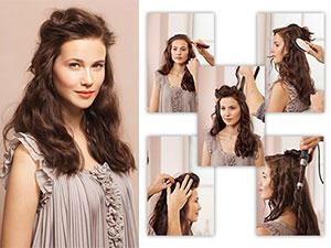 frisuren lange haare schnell