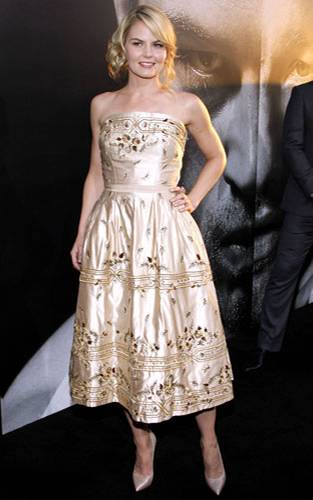 Stars in Gold-Kleidern: Jennifer Morrison