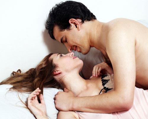 Paar Bett Sex erstes Date