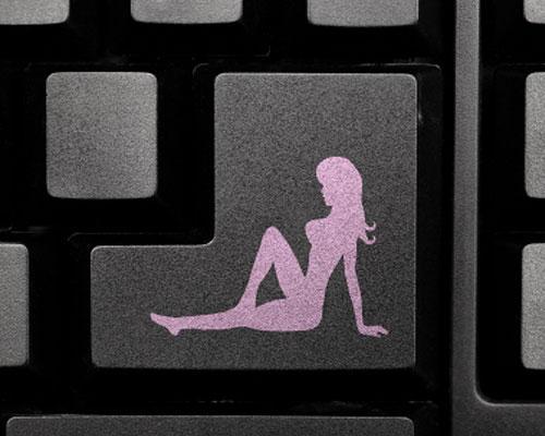 Tastatur Figur Porno