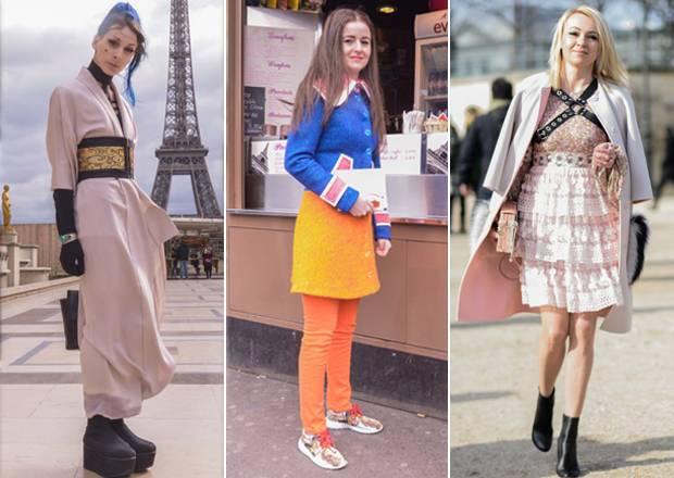 Ups: Auf der Paris Fashion Week zählt nicht nur das, was auf den Schauen gezeigt wird. Auch die Fashionistas auf der Straße geben alles, um von Streetstyle-Fotografen vor und nach den Shows geknipst zu werden. Das hat wenig mit Zufall zu tun. Viel mehr wird sich aufgebrezelt, was das Zeug hält, um aus der Masse als Mode-Mensch herauszustechen. Oft kommen dabei inspirierende Looks zustande. Dass das aber nicht immer gut gehen muss, zeigen wir euch hier in unserer Galerie der sechs schrägsten Looks aus der Mode-Metropole.