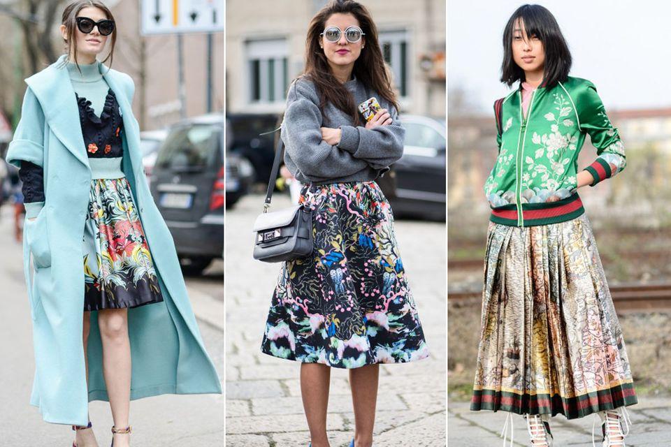 15 Streetstyles von der Fashion Week in Mailand