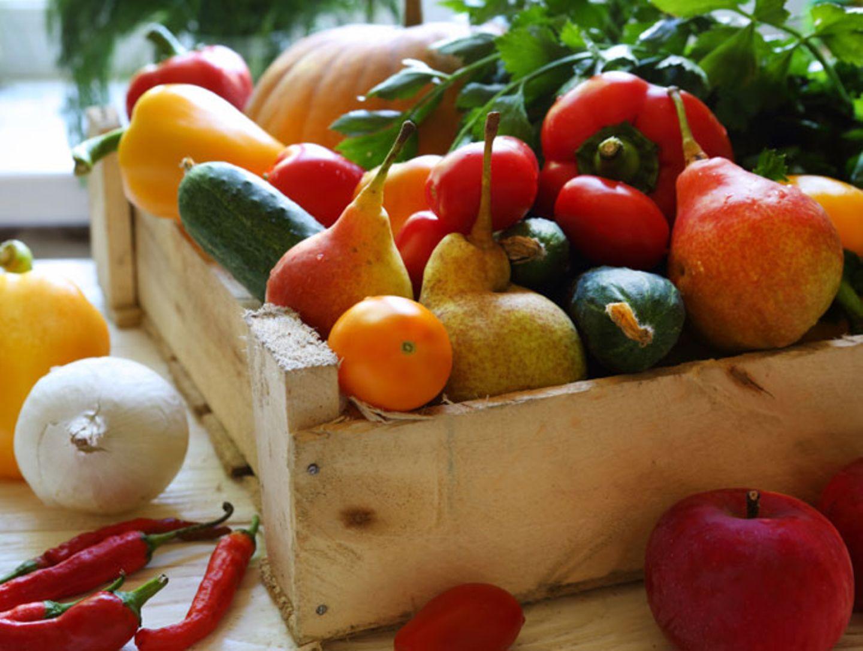 3. Obst und Gemüse sind gesund