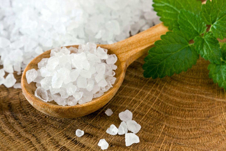 5. Beim Salz gilt: Weniger ist mehr!