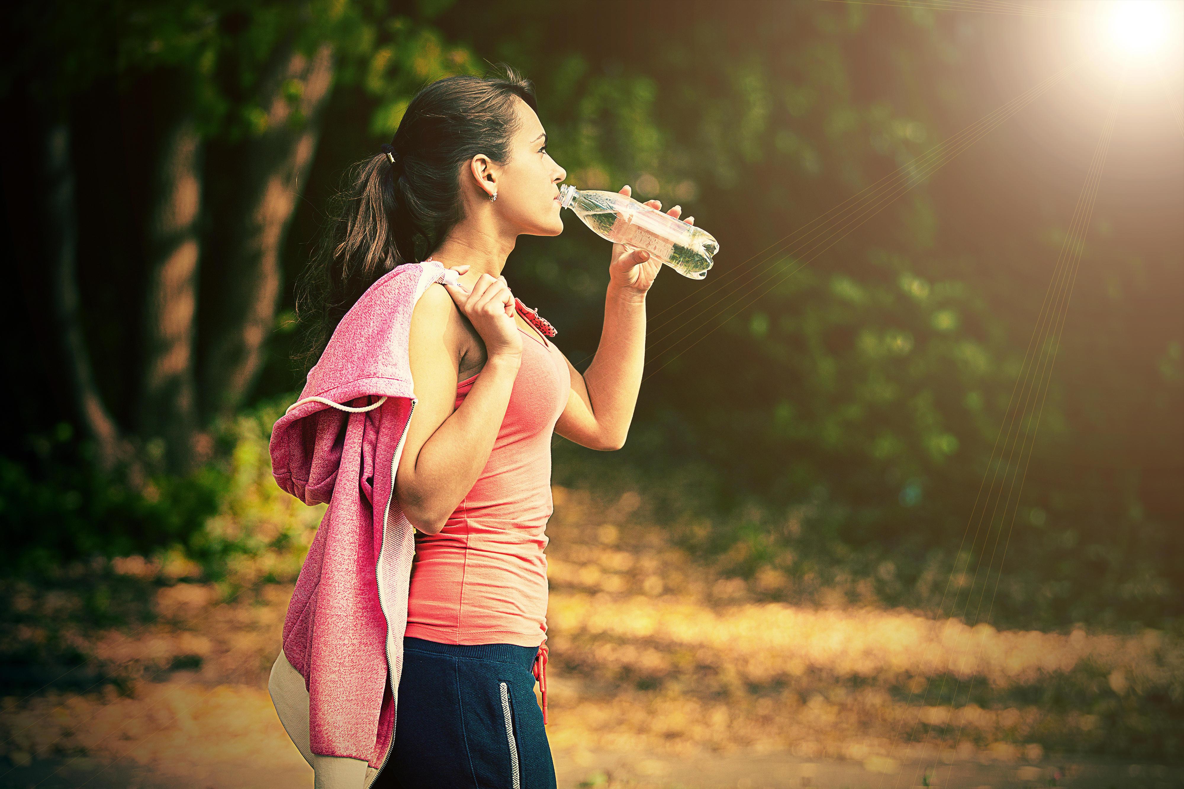 Regeln für eine gesunde Ernährung: Viel trinken