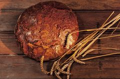 Mediterrane Diät: Ein Laib Brot
