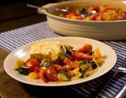 Einfach lecker: Ofengemüse mit Feta