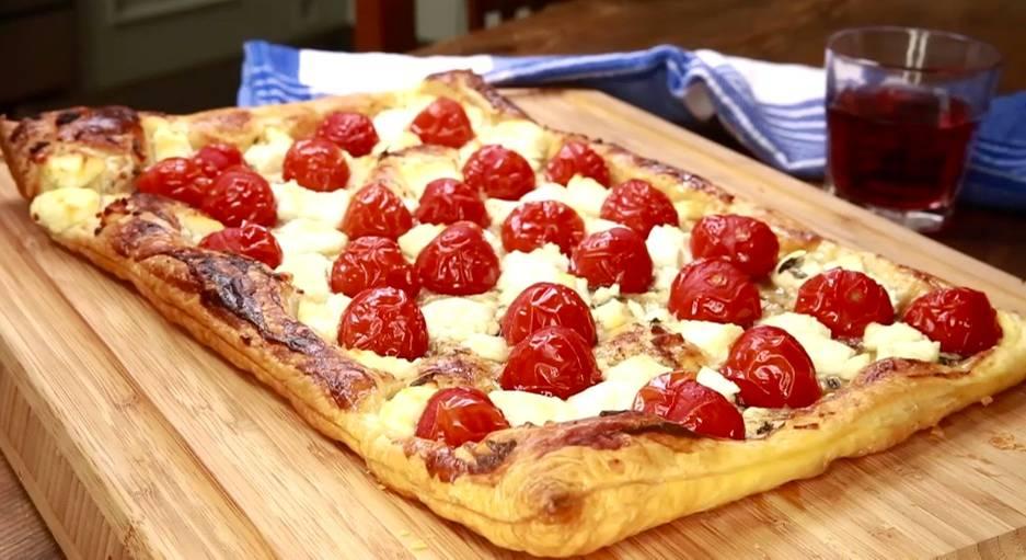 Einfach lecker: Blätterteig-Pizza