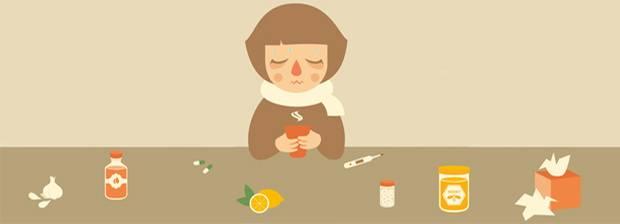 Symptome-Test: Grippe - oder doch nur eine Erkältung?