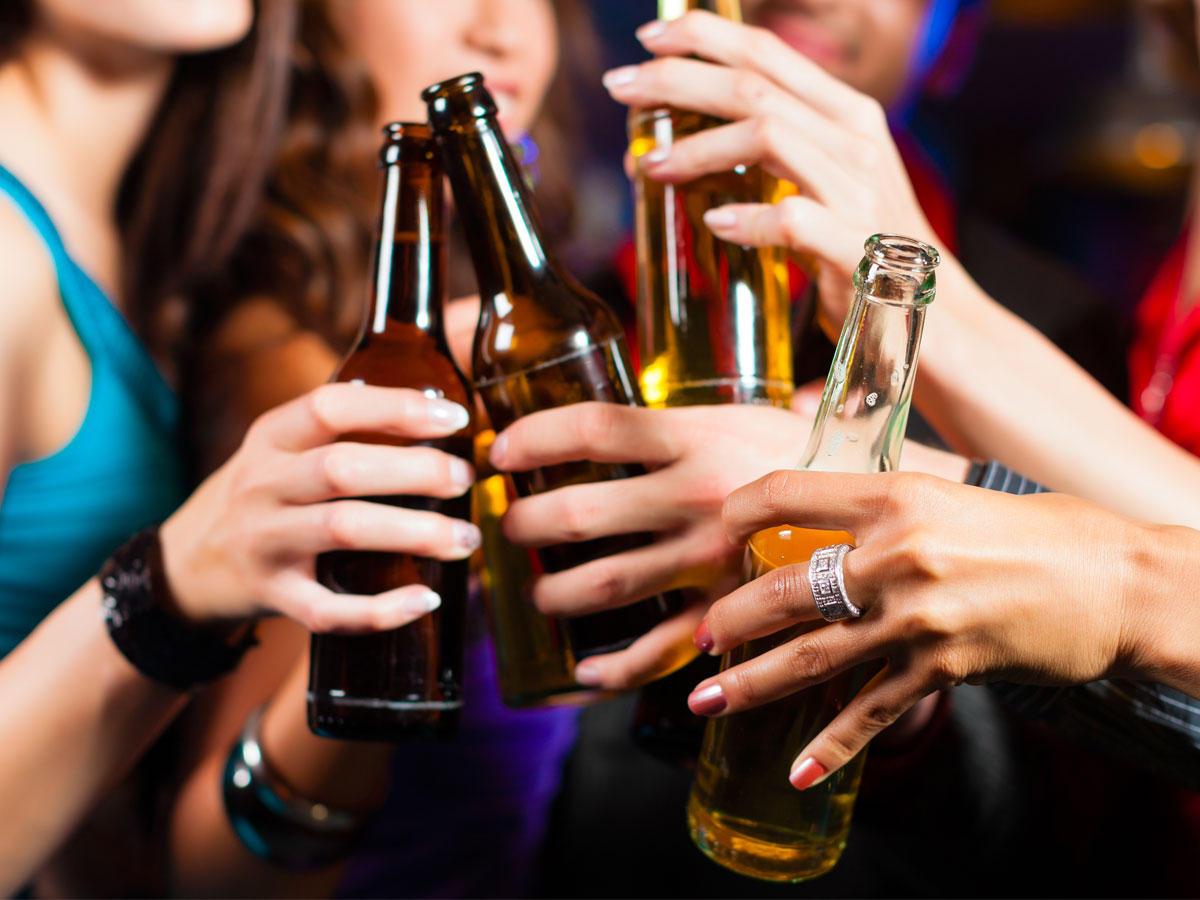 Alkoholkonsum: Trinke ich zu viel?