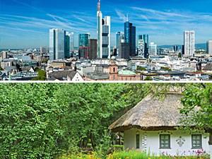 Test: Stadt oder Land: Wo lebe ich glücklicher?