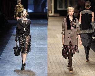 Italien kommt: Der Look von Dolce & Gabbana. England bleibt: Hier bei Antonio Marras.