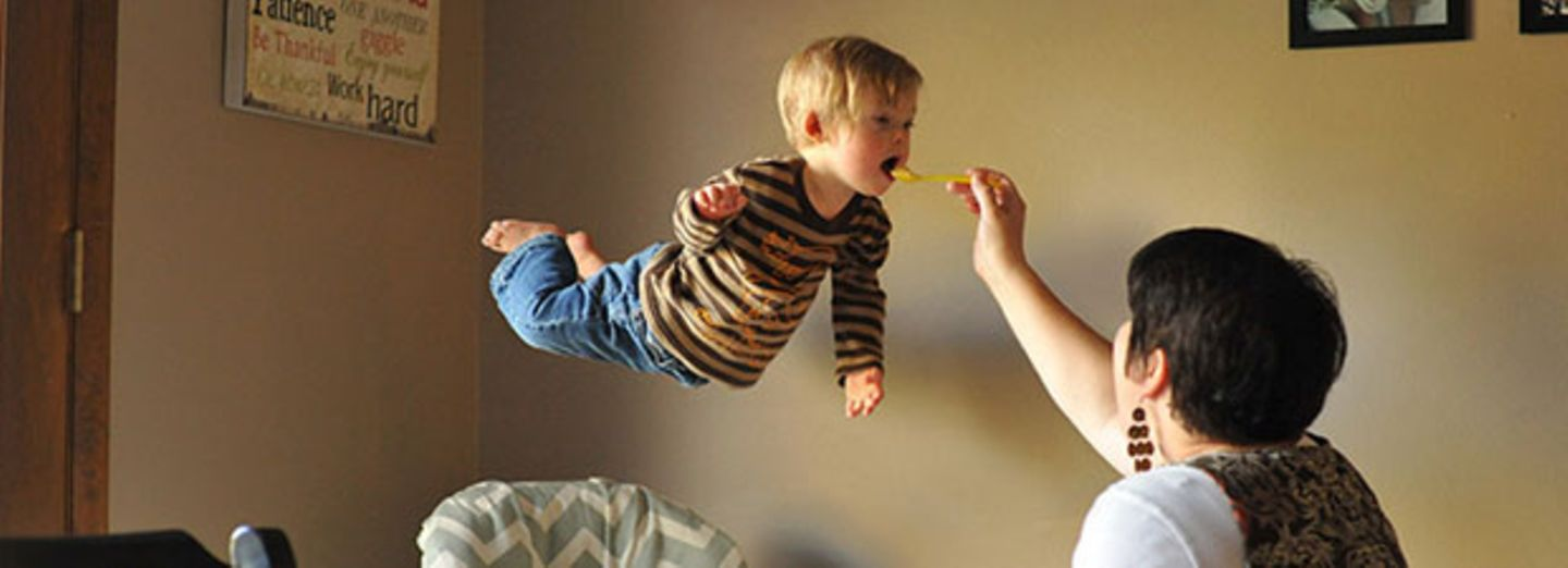 "Mini-Superman mit Down-Syndrom: ""Wil Can Fly!"""