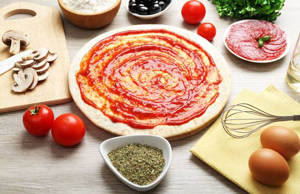 Pizza leicht verdaulich