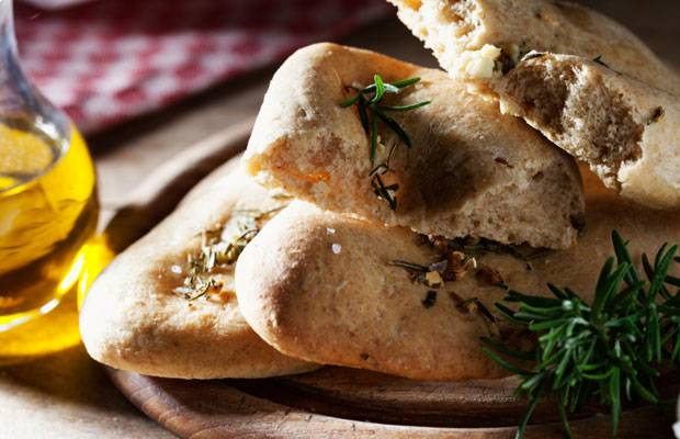Einfach köstlich, wenn es aus dem Ofen kommt: Foccacia