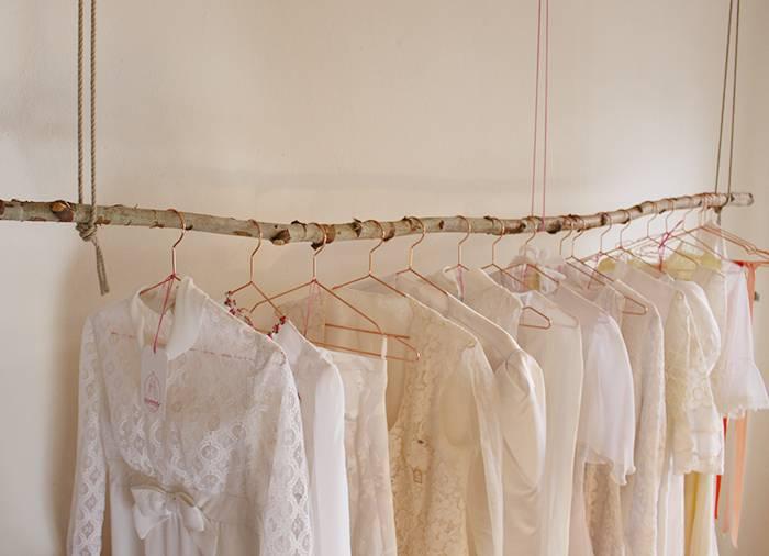 """Bei """"Vererbt"""" gibt es gebrauchte Hochzeitskleider mit Geschichte"""