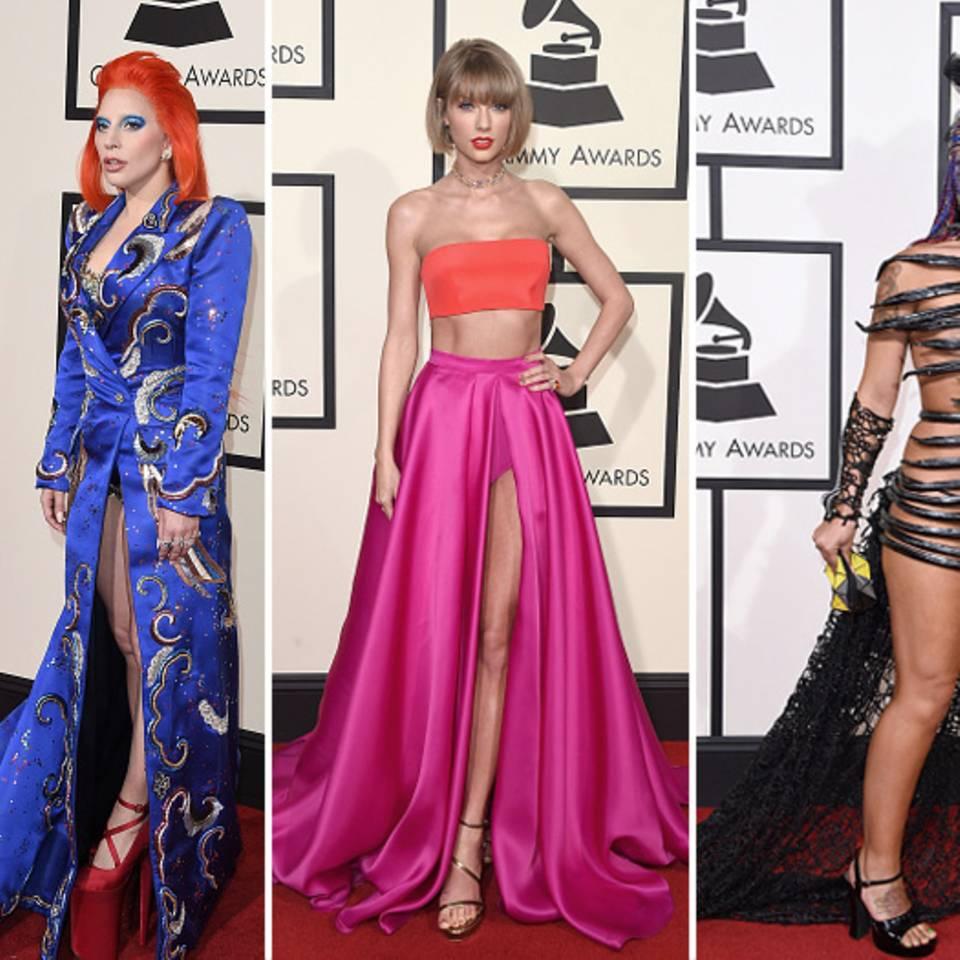 Die Grammys 2016: Tops und Flops vom roten Teppich