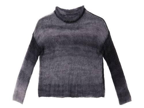 Simples Strickmuster, flauschiges Garn: Diesen dünnen Pullover aus Mohair stricken Sie nicht mal eben so, weil das Garn sehr dünn ist.  Zur Anleitung: Dünnen Pullover aus Mohair stricken.