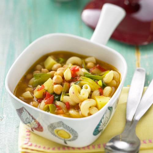Gemüsesuppe rezept zum abnehmen