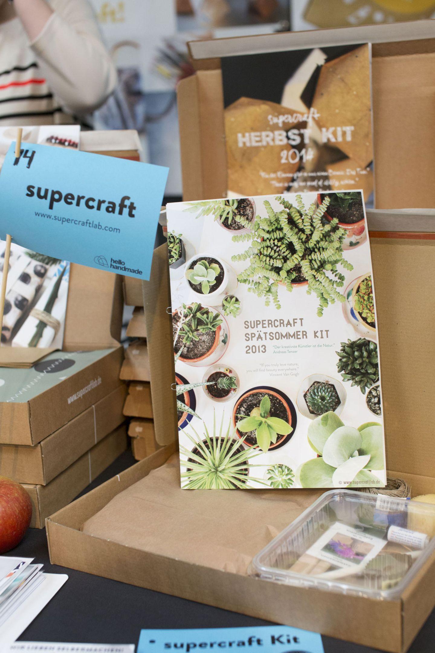 """""""supercraft"""": DIY-Kits, Papier und mehr"""