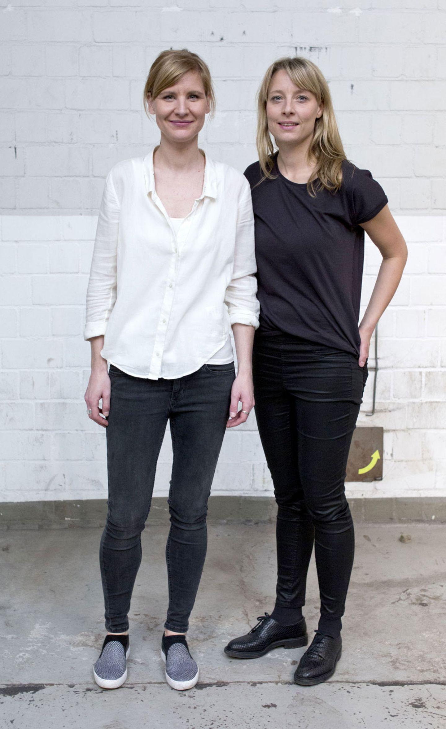 """Catharina und Sophie von """"Hello Handmade"""" und """"supercraft"""""""