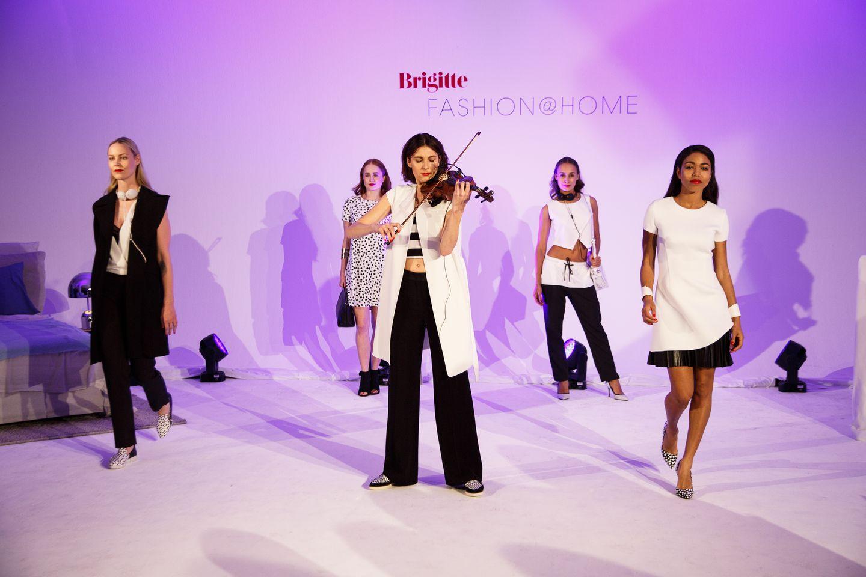BRIGITTE Fashion@Home: Impressionen des Abends