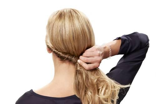 """""""Twirly Curl"""": Schritt 2"""