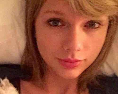 Ohne Make-up: Taylor Swift