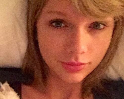 Ohne Make-up: Taylor Swift