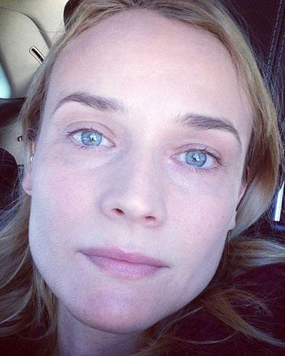 Ohne Make-up: Diane Kruger