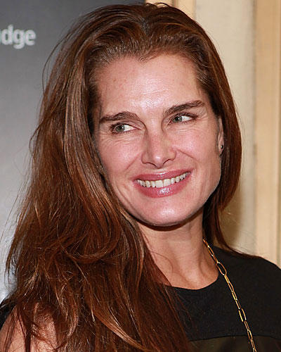 Ohne Make-up: Brooke Shields