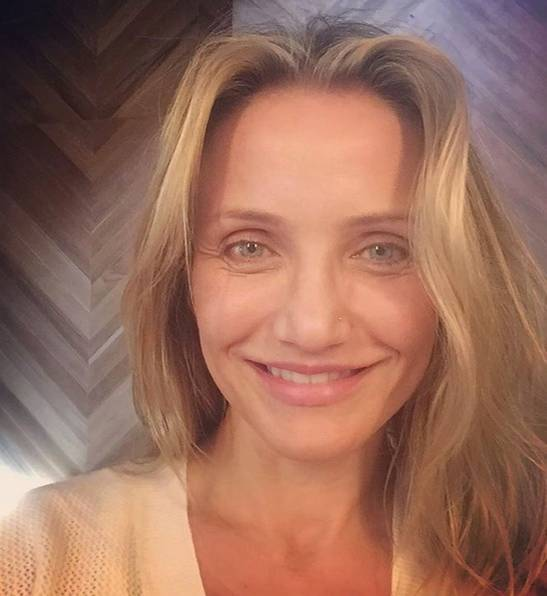 Ohne Make-up: Cameron Diaz