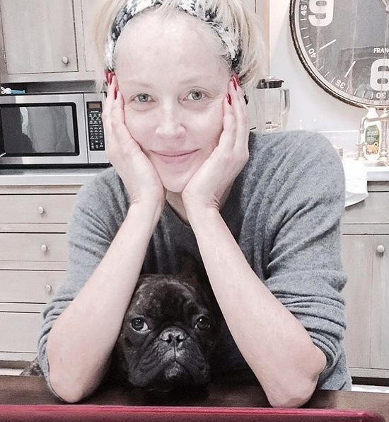 Ohne Make-up: Sharon Stone