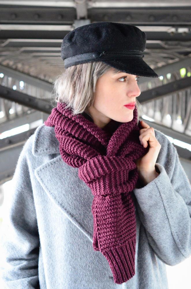 Vicky Wanka trägt Schal