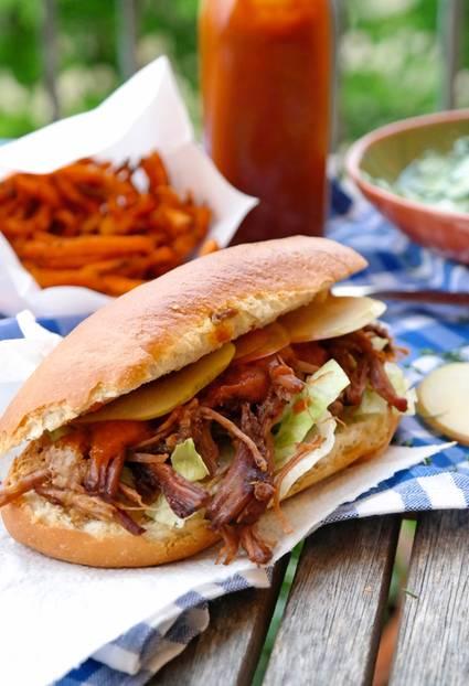 Pulled Beef Sandwich à la Streetfood