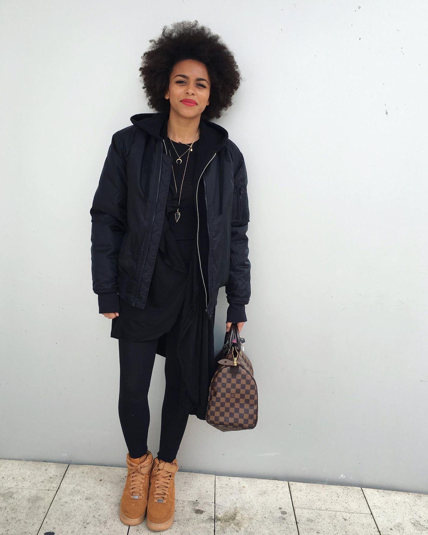 Aminata Belli, Mode-Assistentin bei der Grazia