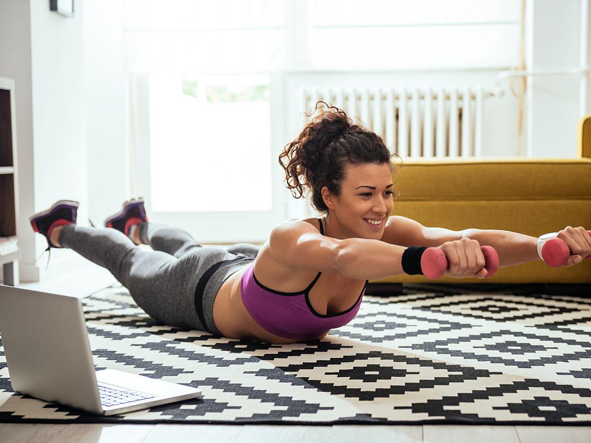 Fitness für zu Hause - das beste Programm!
