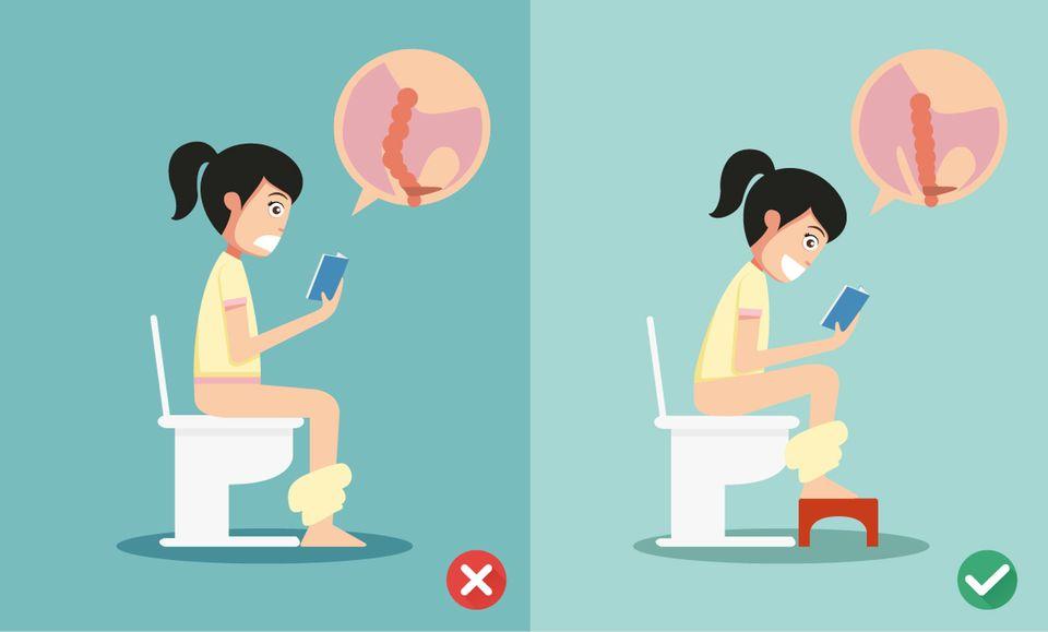 Wetten, dass ihr falsch auf die Toilette geht?