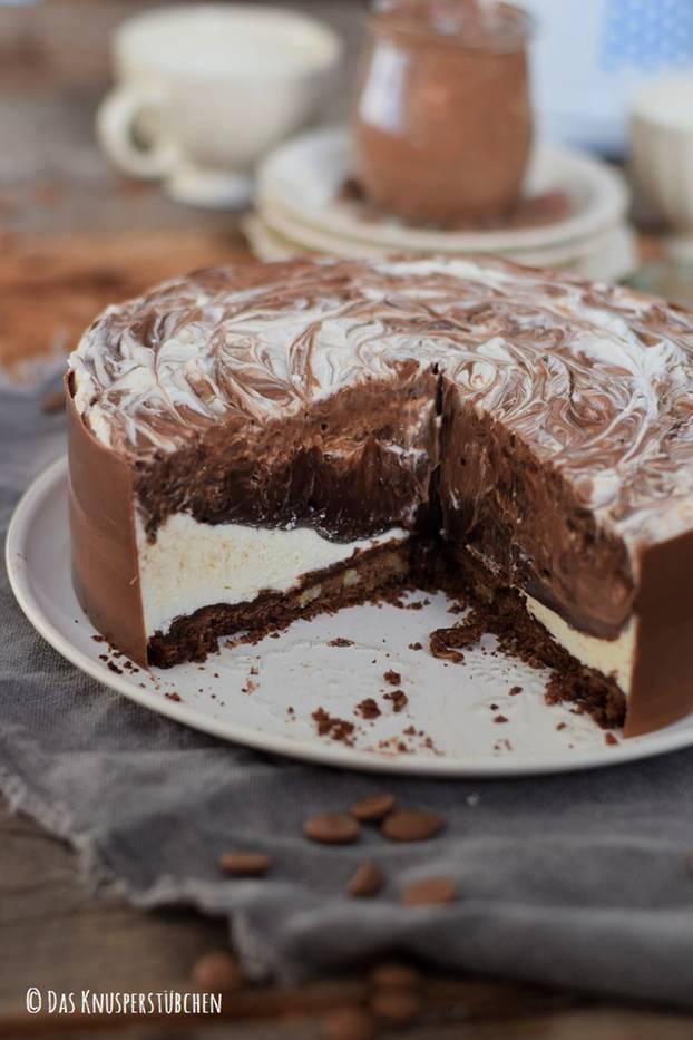 Schoko-Traum: Diese Eis-Torte ist die verführerischste Sünde des Sommers