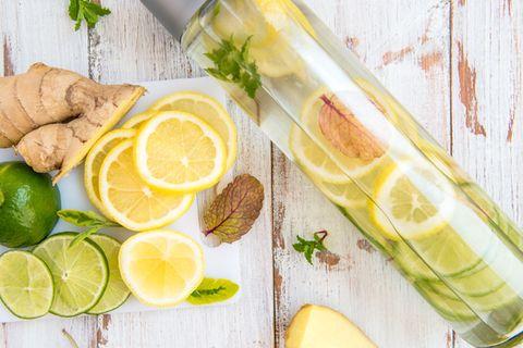 Infused Water: Dieses Wasser macht dich gesund und schlank!