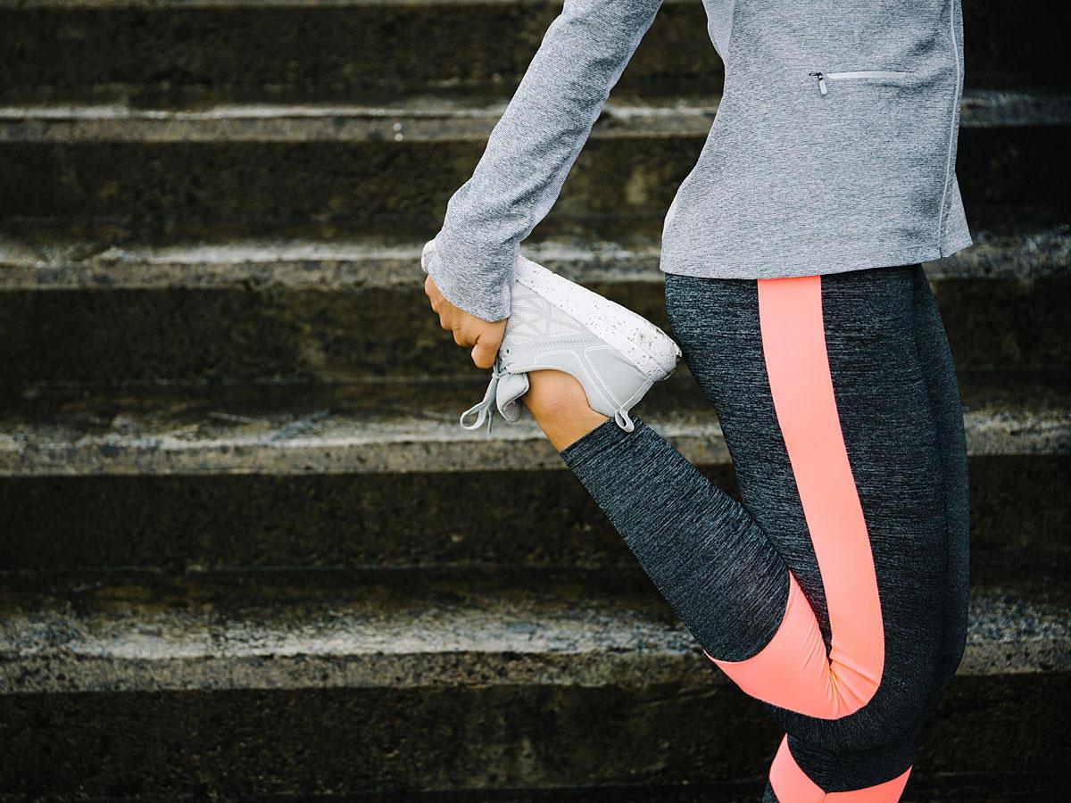 Diese Übungen sorgen für straffe Beine