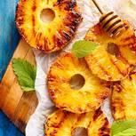 Obst grillen: Gegrillte Ananas