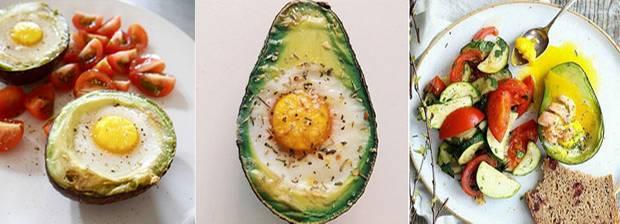 gesunder snack beim ei in der avocado kommt zusammen was zusammengeh rt. Black Bedroom Furniture Sets. Home Design Ideas