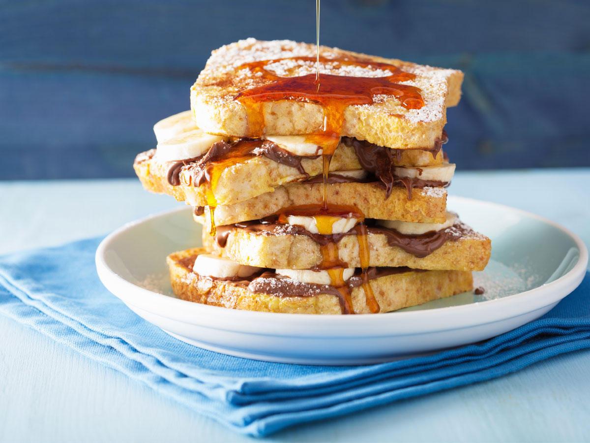 Nachtisch quickie 6 superschnelle dessert toasts zum for Kochtipps schnell