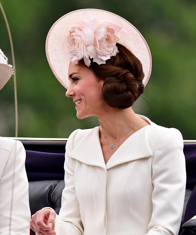 Kate Middleton Das Trug Die Herzogin Beim Geburtstag Der Queen