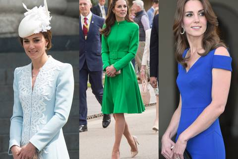 Das trug die Herzogin beim Geburtstag der Queen!