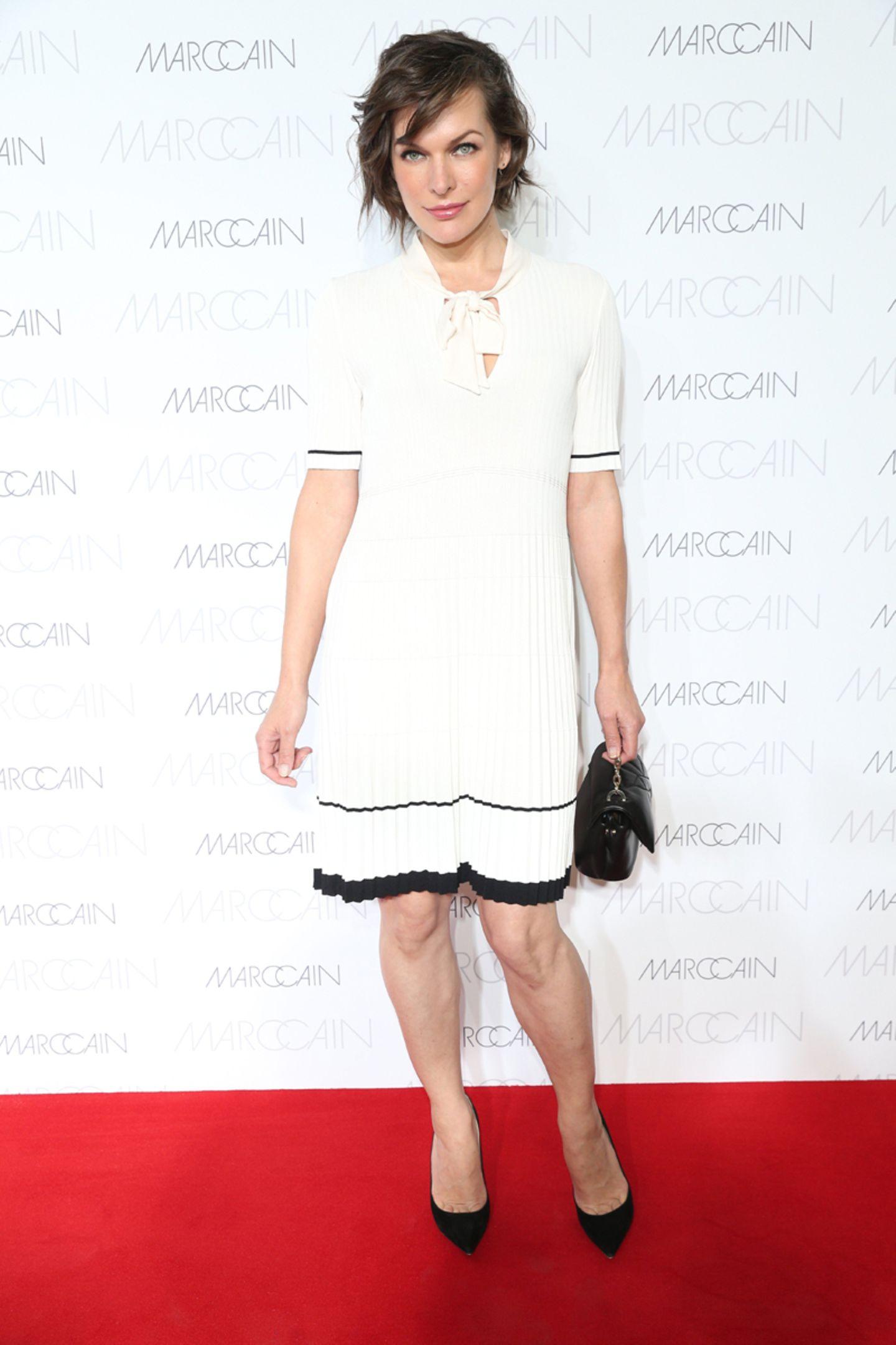 Top-Model und Schauspielerin Milla Jovovich