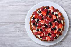 Kuchen mit Beeren