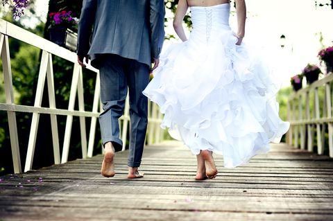 Eine Hochzeit kann schnell im Stress enden.