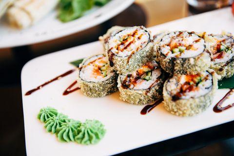 Das ist gar kein Wasabi, was wir zum Sushi essen